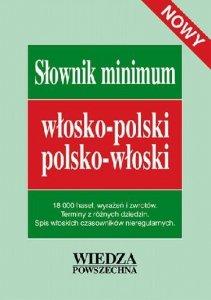 Słownik minimum włosko-polski, polsko-włoski. Nowy