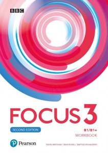 Focus Second Edition 3 Workbook + kod(MyEnglishLab + Online Practice)