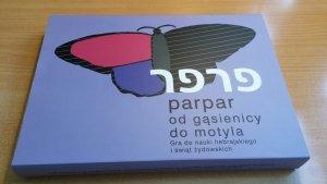 Parpar od gąsienicy do motyla. Gra planszowa do nauki liter hebrajskich i świąt żydowskich
