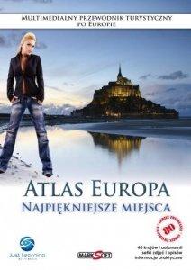 Atlas Europa. Najpiękniejsze miejsca. Multimedialny przewodnik turystyczny po Europie. PC CD-ROM