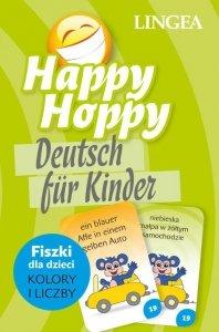 Happy Hoppy Deutsch fur Kinder. Fiszki dla dzieci język niemiecki. Kolory i liczby