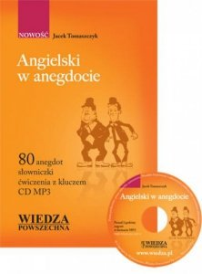 Angielski w anegdocie + CD