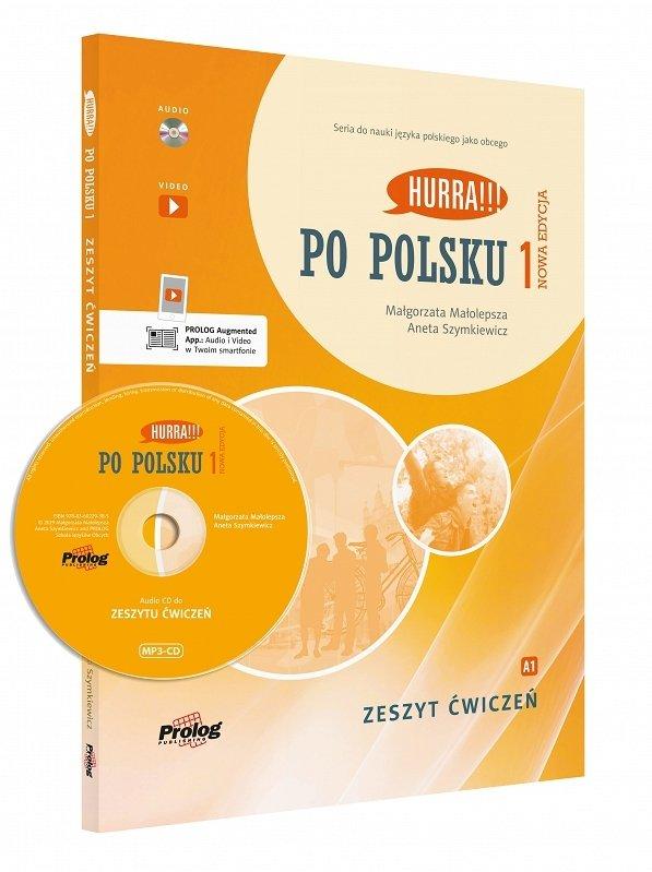 Hurra Po Polsku 1. Zeszyt ćwiczeń. Nowa edycja + CD mp3 + aplikacja
