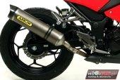 Kompletny sportowy wydech ARROW Kawasaki Ninja 300R