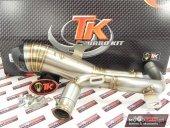 Sportowy wydech TURBOKIT GP H3 CARBON 125 4T