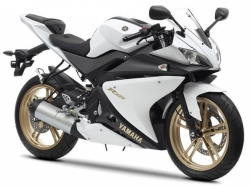 2012 Yamaha R-125 MAT WHITE METALLIC