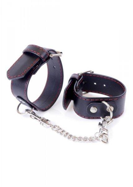 Fetish Boss Series Handcuffs 3 cm Red Lline