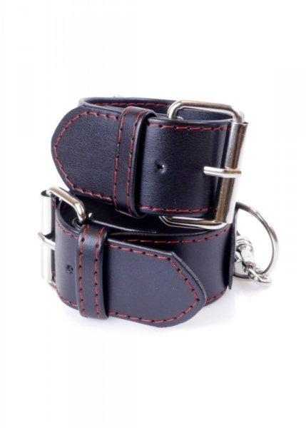 Fetish Boss Series Handcuffs 4 cm Red Lline