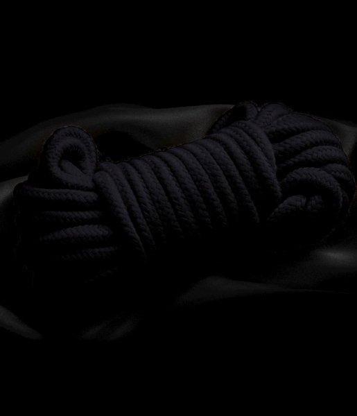 Czarna lina do krępowania 3m