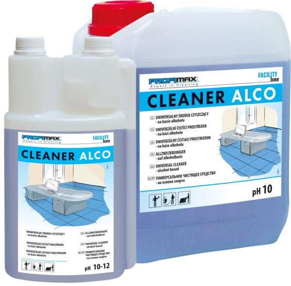 CLEANER ALCO - uniwersalny środek czyszczący na bazie alkoholu 1l