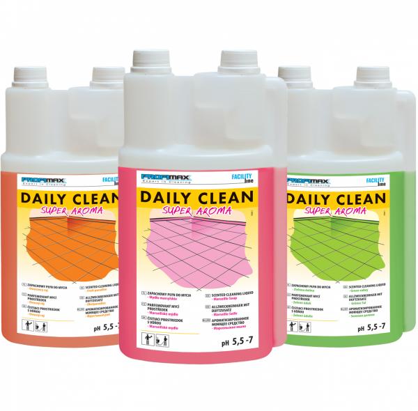 DAILY CLEAN Super Aroma - do zapachowego mycia - zielona dolina 5l
