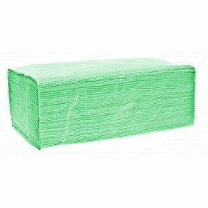 Ręcznik ZZ zielony 4000szt 1w makulatura