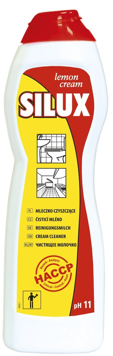 SILUX Professional mleczko do czyszczenia 1kg - lemon (HACCP)