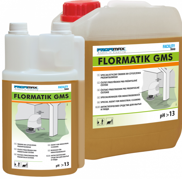 FLORMATIK GMS - specjalistyczny produkt do czyszczenia przemysłowego 1l