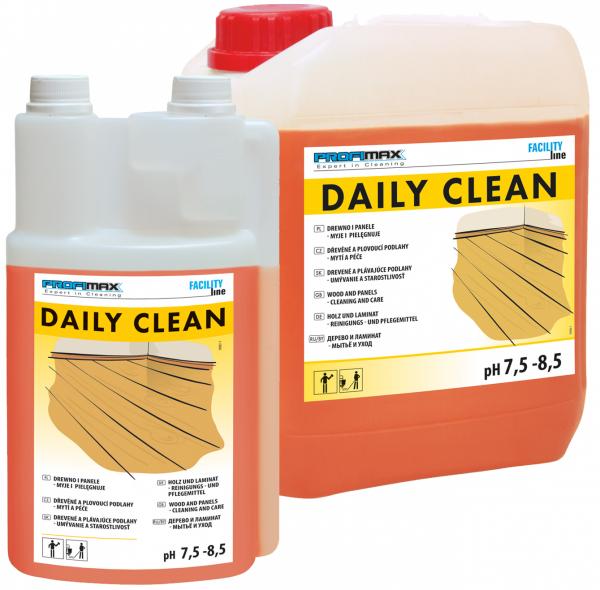DAILY CLEAN - DREWNO i PANELE  - do mycia i pielęgnacji 5l