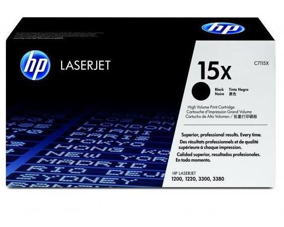 HP Toner nr 15X C7115X Black 3,5K