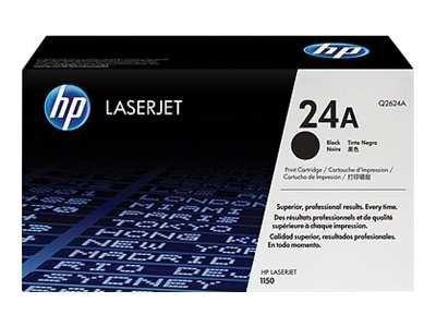 HP Toner nr 24A Q2624A Black 2,5K