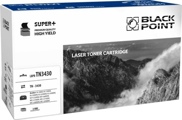 Black Point toner LBPBTN3430 zastępuje Brother TN-3430, 3000 stron