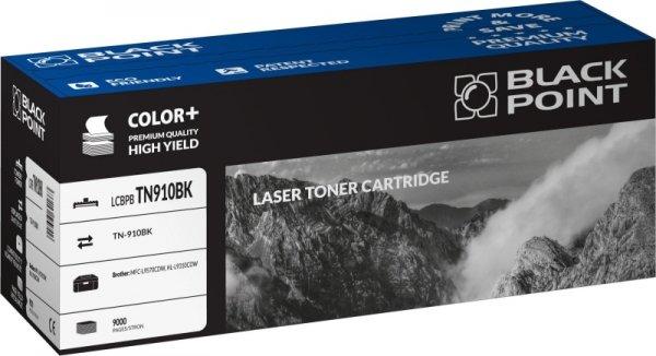 Black Point toner LCBPBTN910BK zastępuje Brother TN-910BK, czarny