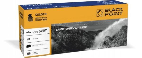 Black Point toner LCBPC045HY zastępuje Canon CRG-045HY yellow