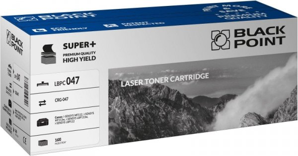 Black Point toner LBPC047 zastępuje Canon CRG-047, Black, 1600 stron.
