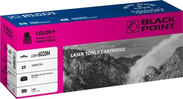 Black Point toner LCBPX6020M zastępuje Xerox 106R02761, czerwony