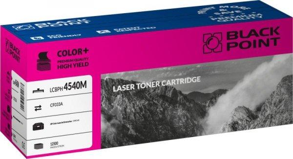 Black Point toner LCBPH4540M zastępuje HP CF033A, czerwony