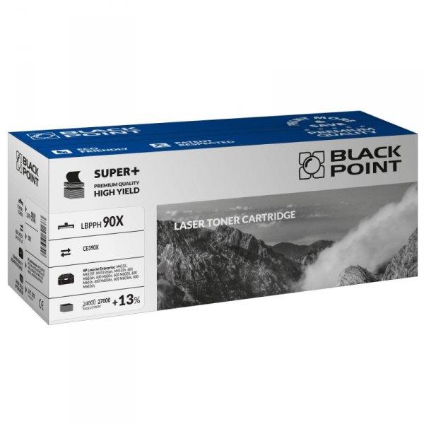 Black Point toner LBPPH90X zastępuje HP CE390X, 27000 stron