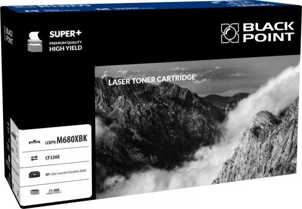 Black Point toner LCBPHM680XBK, zastępuje HP CF320X, 21000 stron