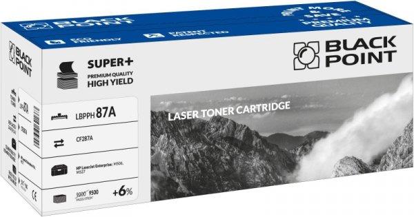 Black Point toner LBPPH87A zastępuje HP CF287A, 9500 stron