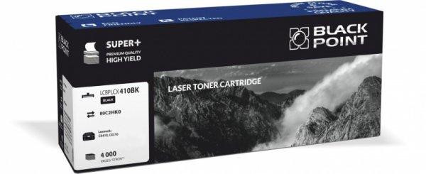 Black Point toner LCBPLCX410BK zastępuje Lexmark 80C2HK0 , czarny
