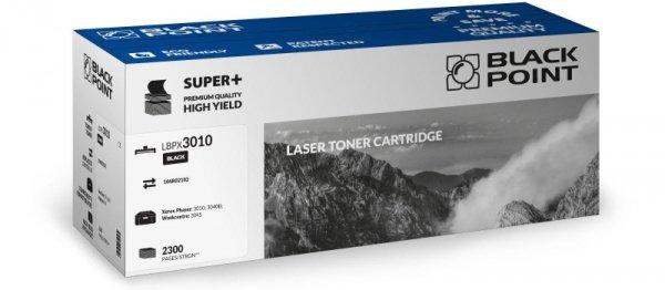 Black Point toner LBPX3010 zastępuje Xerox 106R02182, 2300 stron