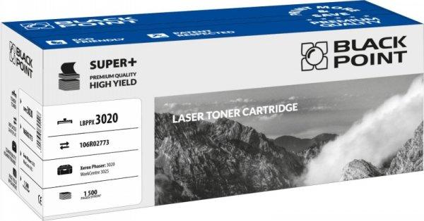 Black Point toner LBPPX3020 zastępuje Xerox 106R02773, 1800 stron
