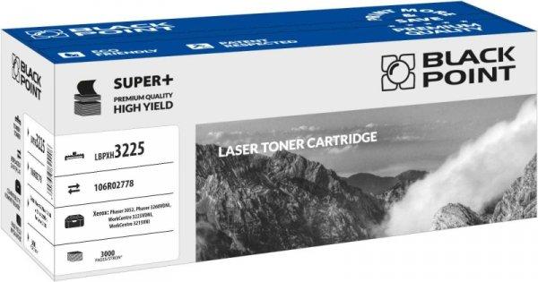 Black Point toner LBPX3225 zastępuje Xerox 106R02778, 3000 stron