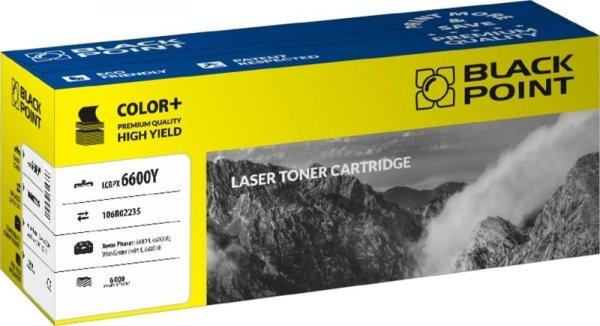 Black Point toner LCBPX6600Y zastępuje Xerox 106R02235, żółty