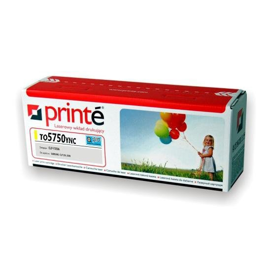 Printé toner TO5750YNC zastępuje OKI 43872305, żółty