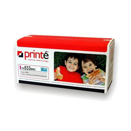 Printé toner TH533MNC zastępuje HP / Canon CC533A / CRG-718M, czerwony