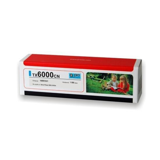 Printé toner TX6000CN zastępuje Xerox 106R01631, niebieski