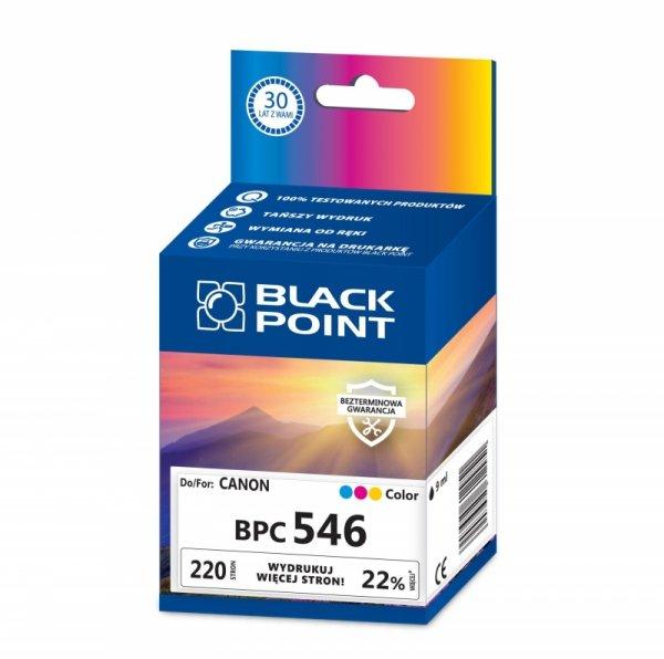 Black Point tusz BPC546 zastępuje Canon CL-546, trójkolorowy