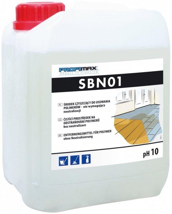 """SBN 01 LAKMA - środek czyszczący do usuwania polimerów """"na sucho"""" 5l"""