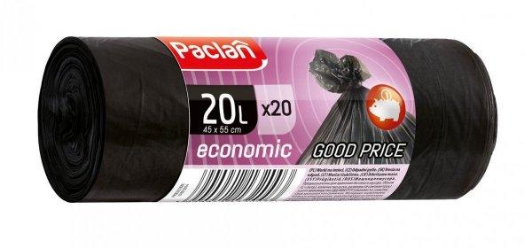 WORKI NA ŚMIECI ECONOMIC 20 L 20 SZT. PACLAN
