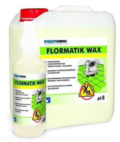 FLORMATIK WAX  - ANTYPOŚLIZGOWY środek czyszczący 5l