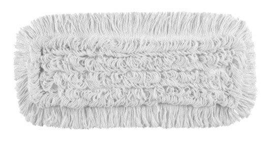 Mop Tes bawełna biała linia premium 40cm Pętelkowy