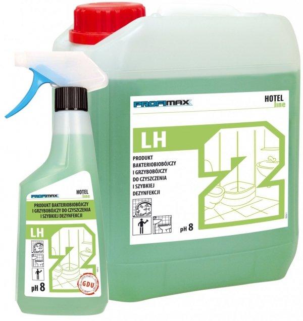 LH2środek bakteriobójczy i grzybobójczy do czyszczenia i szybkiej dezynfekcjiPRODUKT GOTOWY DO UŻYCIA