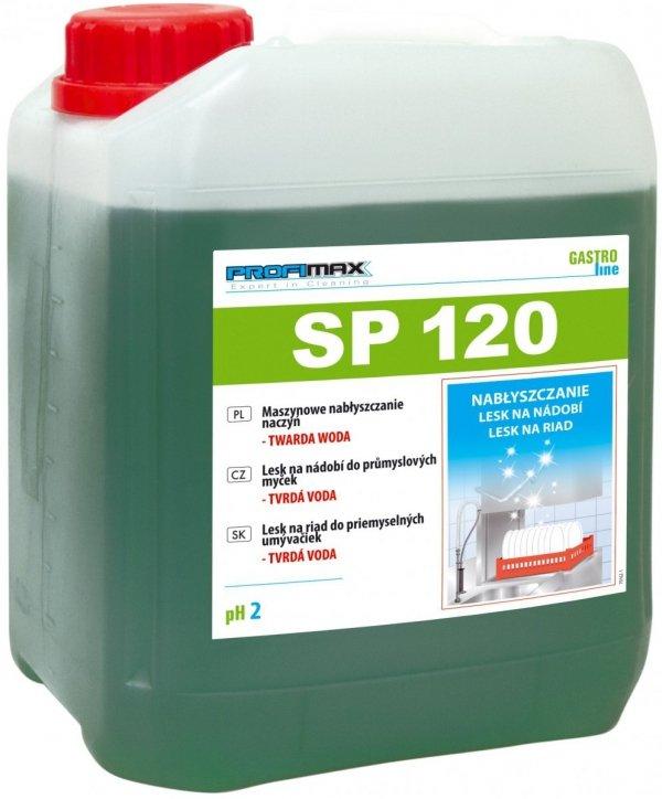 PROFIMAX SP 120 - maszynowe nabłyszczanie naczyń (twarda woda) 5L