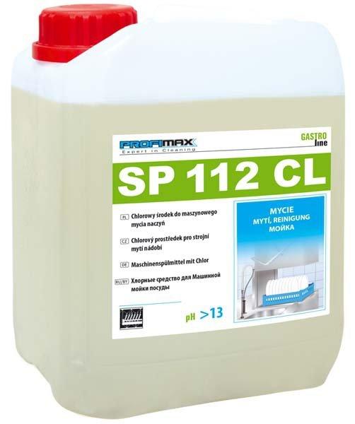 PROFIMAX SP 112CL - chlorowy środek do maszynowego mycia naczyń 5L
