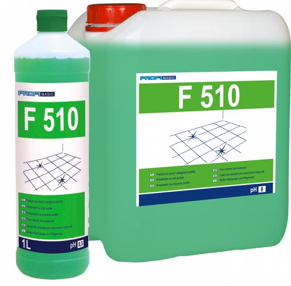 PROFIBASIC F 510 - do mycia i pielęgnacji podłóg 10l