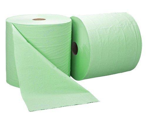 Czyściwo makulaturowe zielone 2rolki