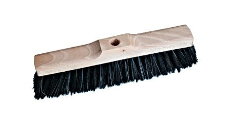 Zamiatacz drewniany 30cm mieszanka z włosiem naturalnym