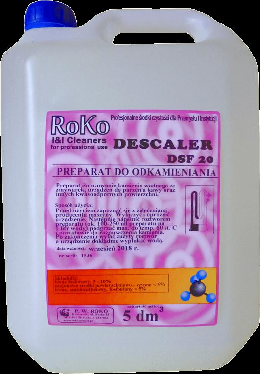 Descaler DSF 20 odkamieniacz w płynie 5l